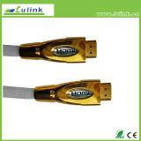 Maschio HDMI m. dell'intelaiatura del metallo - cavo 19pin di m.