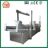 Automatischer Huhn-Nugget-Produktionszweig und Huhn-Leiste-Bratpfanne und braten Maschine