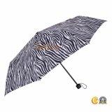 Новые Zebra-Stripe 3 складная дождь прочный зонтик для продажи