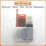 Morceaux de foret professionnels de torsion du titane HSS