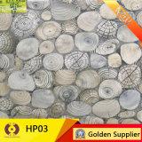 Telha de assoalho elevada da telha cerâmica do material de construção de Saleing (HP04)