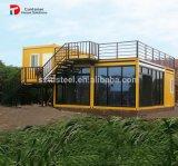 Het Hotel van de Container van de Caravan van het Plan van het huis