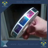 Il contrassegno dell'ologramma di obbligazione con ha annunciato il marchio di disegno, fabbrica dell'autoadesivo dell'ologramma