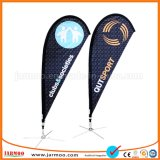 Polyester promotionnel Logo personnalisé beach flag flying