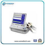 Couleur Portable de soins de la fréquence cardiaque foetale/maternelle mère détecteur moniteur Doppler
