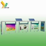 버스 정류장 광고를 위한 좋은 품질 P5 태양 강화된 LED 스크린