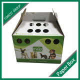 La couleur imprimée Boîte d'emballage des aliments pour animaux de compagnie