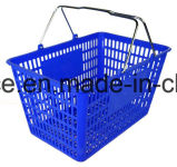 28L-32L en plastique Panier de supermarchés, de la main Panier Panier en plastique