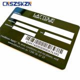 Дешевые стандартного размера Custom печать пластиковых ПВХ подарочной карты карта штрих-кодов