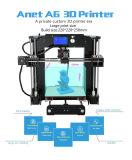 Grande imprimante de la haute précision 3D Digitals de taille d'impression d'Anet avec le filament libre