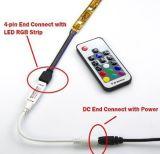 Mini mando a distancia inalámbrico de banda de luz LED RGB de 12V Controller Destacados producto