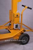 Kleiner heller Aufsatz mit beweglichem Generator im Aufbau, Bergbau, Straße, Katastrophenhilfe