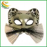 黒くセクシーなレースの目マスクのベニス風のマスカレードのデザインの凝った服党