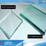 Le verre trempé 3mm/4mm/5mm/6mm/8mm/10mm/12mm/15mm/19mm transparente&trempé teinté/Le verre trempé avec ce&CCC-Certificat ISO