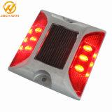 Marcador de estrada reflexivo LED solar de alumínio prisioneiro de Estrada