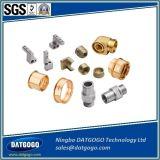 Noce d'ottone dell'inserto di precisione su ordinazione, noce d'ottone lavorante di CNC da Zhejiang