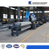 Máquina industrial do filtro da água de esgoto do tratamento da lama