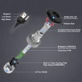 Tres de alta potencia lateral 6500K 8000 lumens COB Super brillante S2 Faro H7 Bombillas LED Auto faro H4
