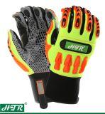 De antislip Schokbestendige Mechanische Handschoen van het Werk van de Veiligheid met TPR