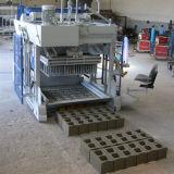 Bloco de cimento oco móvel portátil do preço barato que faz a máquina