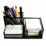 Malla de alambre de metal Shcool Oficina Escritorio Escritorio Organizador de la pen lápiz