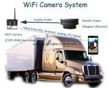 WiFi IPが付いている携帯用電池式の無線逆のカメラ