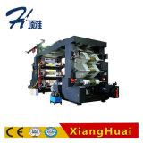 Изготовление печатного станка печатной машины крена пленки 6 цветов высокоскоростное бумажное