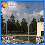 Lâmpada de rua solar ao ar livre completa do diodo emissor de luz com de controle remoto