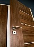 Portes intérieures non toxiques en bois solide pour les salles de séjour internes
