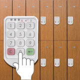 사무실, 체조를 위한 전자 지능적인 내각 자물쇠 디지털 로커 자물쇠