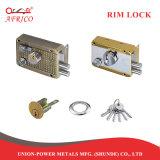 El cilindro de latón clave Locksets cerradura de puerta en puerta de metal