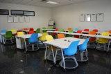 مرنة عقدة مدرسة كرسي تثبيت مع قرص من تربيّة أثاث لازم