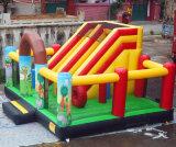 広州の大人および子供のための巨大で膨脹可能な警備員のスライド