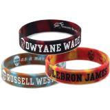 Wristband cambiante personalizzato del silicone di colore di marchio