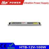 bloc d'alimentation de commutation de 100W 8A 12V pour le signe ultra-mince de Lightbox