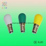 LED multicolores S6 Bombillas LED de señal, de color S6 E12/E14 Festival bombilla LED, S6 E12/E14 de la luz de la cadena