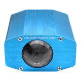 소리 통제 파란 색깔 DJ 디스코 효력 LED 단계 빛