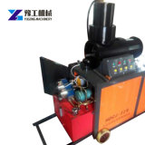 Doble cilindro hidráulico de 16-40mm Rebar extremo malestar de la máquina de forja