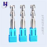 R3*12*D6*50*2t de carburo sólido de alto rendimiento 2 bola de la Flauta de molinos de extremo de la nariz para aluminio