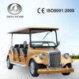 8 Seaters 고전적인 포도 수확 손수레 골프 카트 트롤리 전기 밴