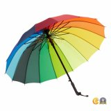 ترويجيّة آليّة جذّابة قوس قزح مطر مصممة مظلة