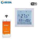 16A WiFi termostato eléctrico de control con pantalla táctil Room termostato de calefacción por suelo radiante