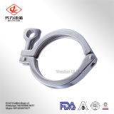 Tri-Abrazadera sanitaria del acero inoxidable 304/316L