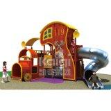 子供(KQ60080A)のためのKaiqiの普通サイズの木の屋外の運動場