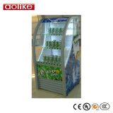 Refrigerador aberto da Multi-Plataforma para a bebida