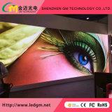 P2 visualización de LED flexible de alquiler de la cabina de interior del aluminio LED