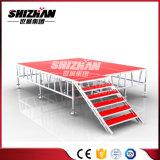 Modulares bewegliches Aluminiumstadium mit Treppe