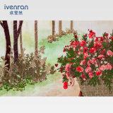 Pulsa la pintura de flores para la Decoración de pared