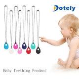 Weiche gesunde Baby-Krankenpflege-Silikon-Dentition-Anhänger-Halskette