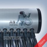 Caldera de agua caliente solar de Suntask 123 con el tanque interno de SUS316L